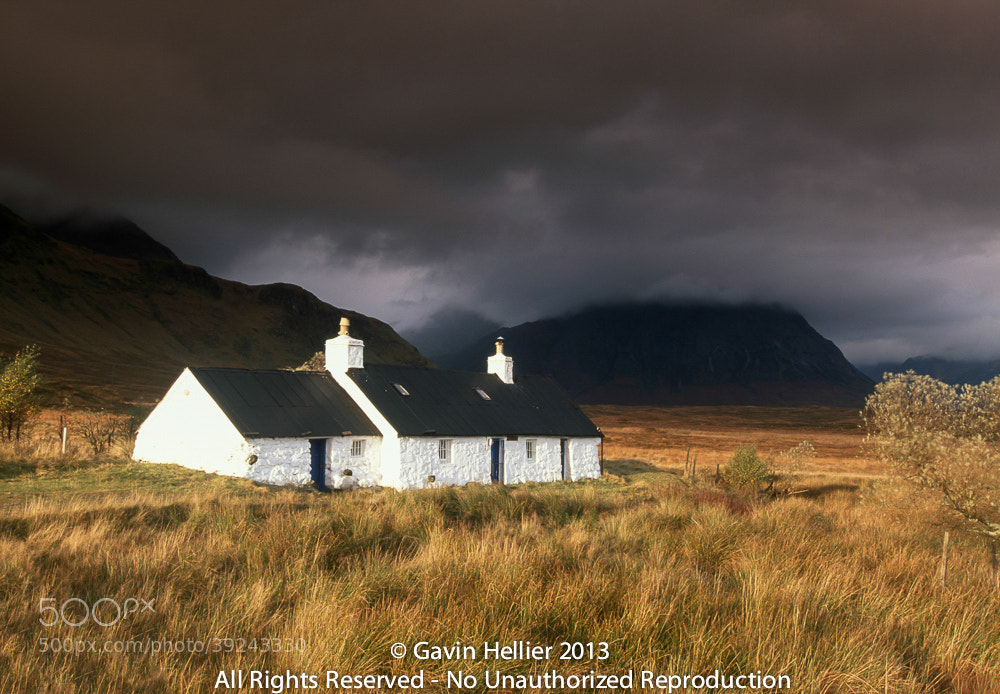 Photograph Rannoch Moor, Glencoe (Glen Coe), Western Highlands, Highlands Region, Scotland by Gavin Hellier on 500px