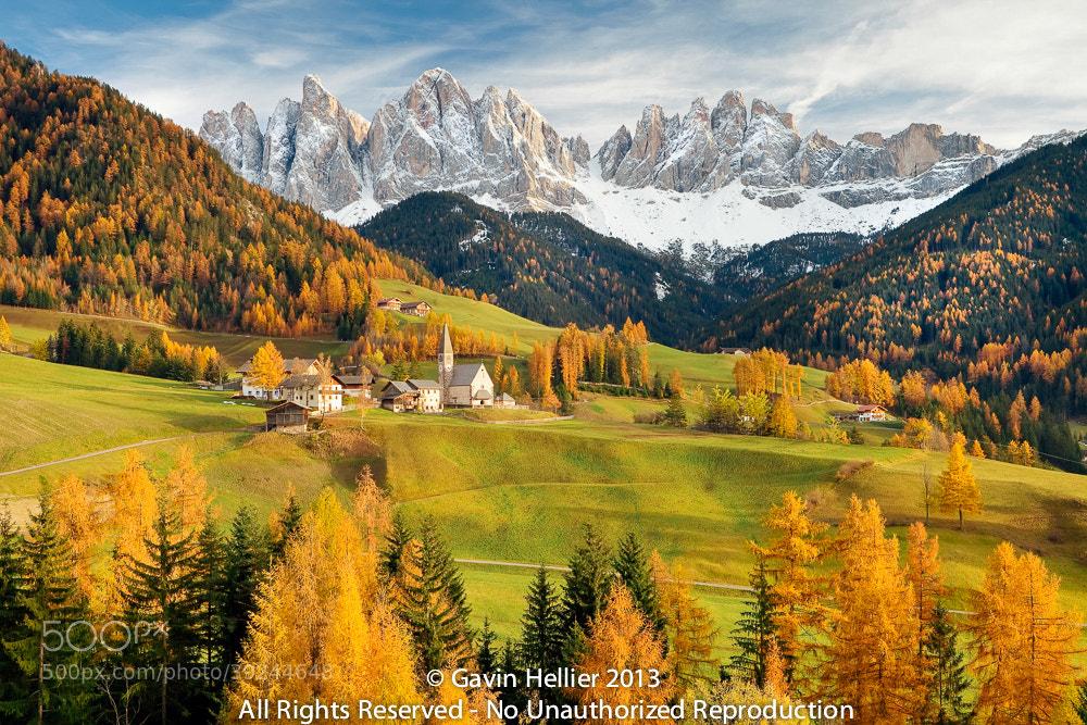 Photograph Mountains, Geisler Gruppe/ Geislerspitzen, Dolomites, Trentino-Alto Adige, Italy by Gavin Hellier on 500px
