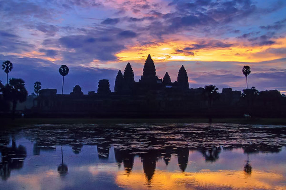Photograph Angkor sunrise by Herbert Wong on 500px