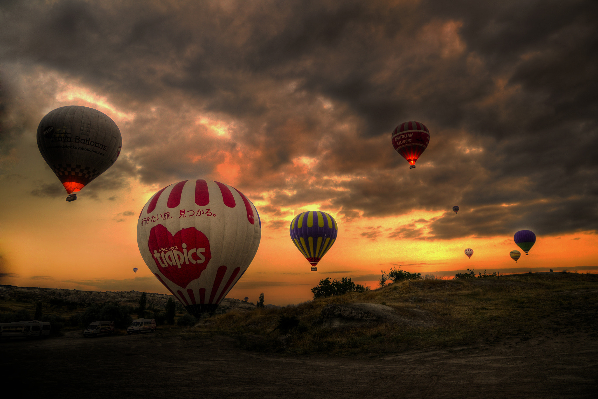 Photograph Early morning in Cappadocia by Mehmet Mesart on 500px