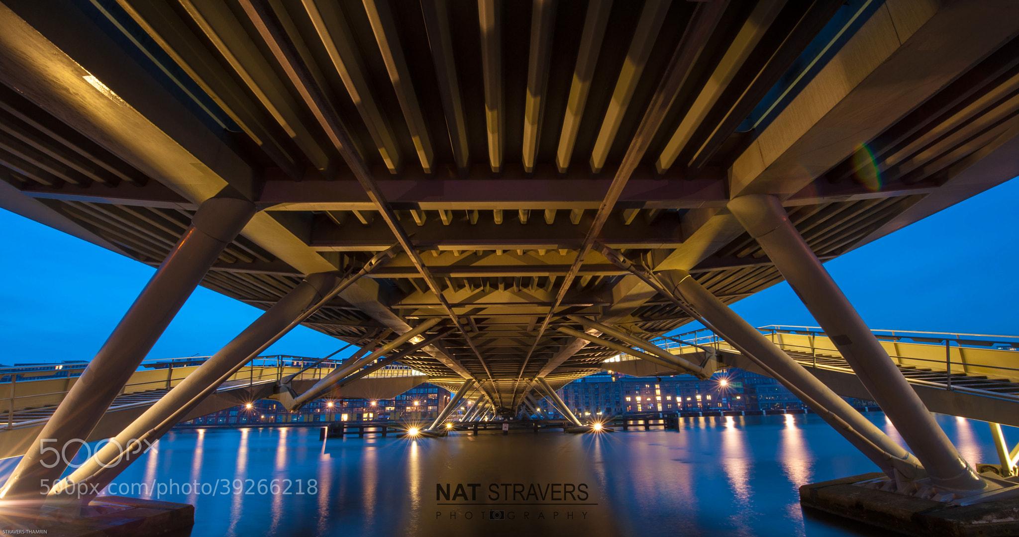 Photograph The Jan Schaefer Bridge by Nathalie Stravers on 500px