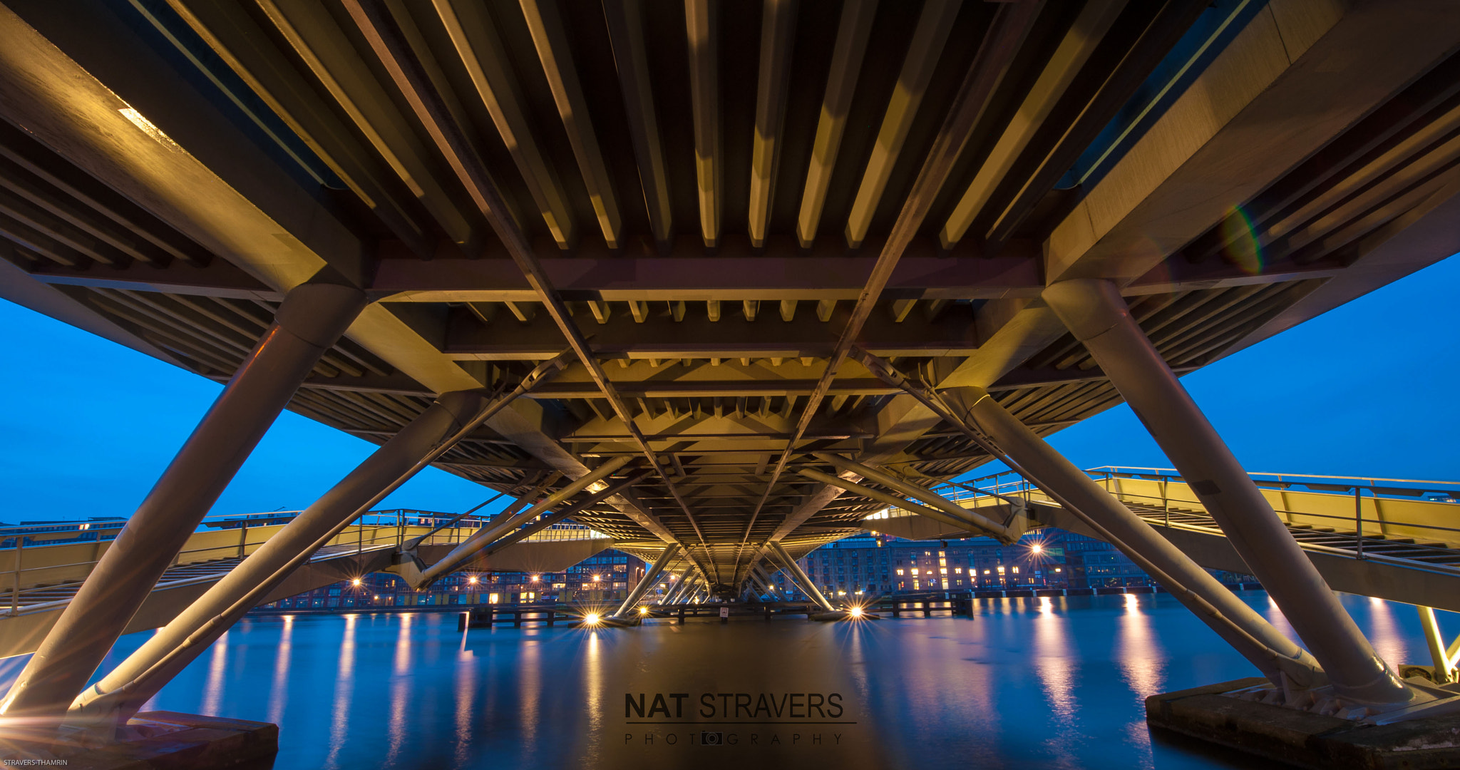 Photograph The Jan Schaefer Bridge by Nathalie Stravers on 500px