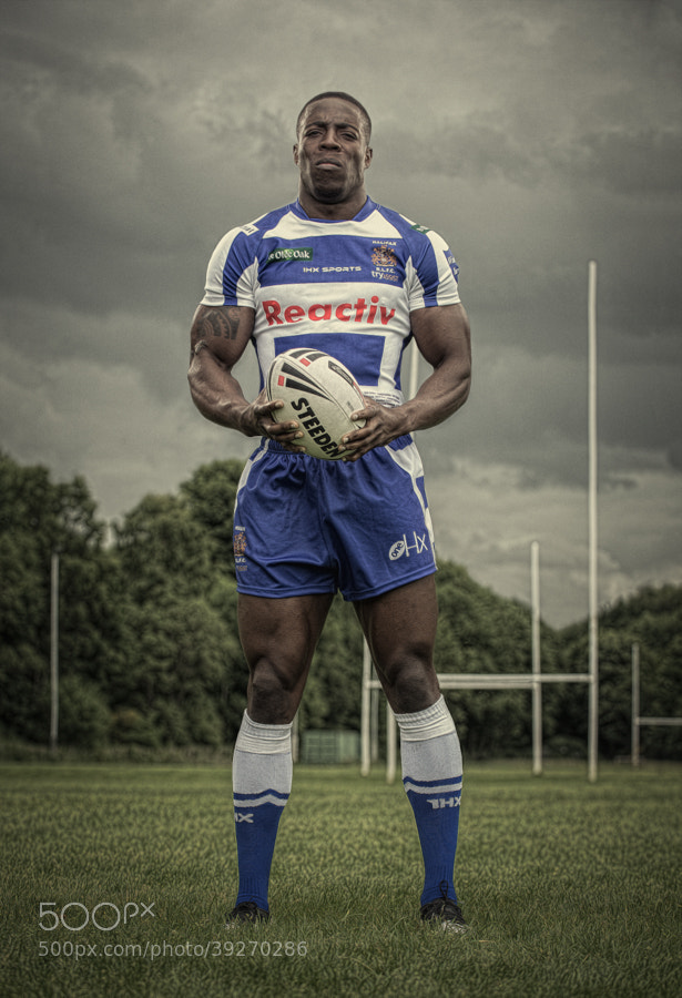 Photograph Rob Worrincy - Halifax Rugby League by Glyn Dewis on 500px