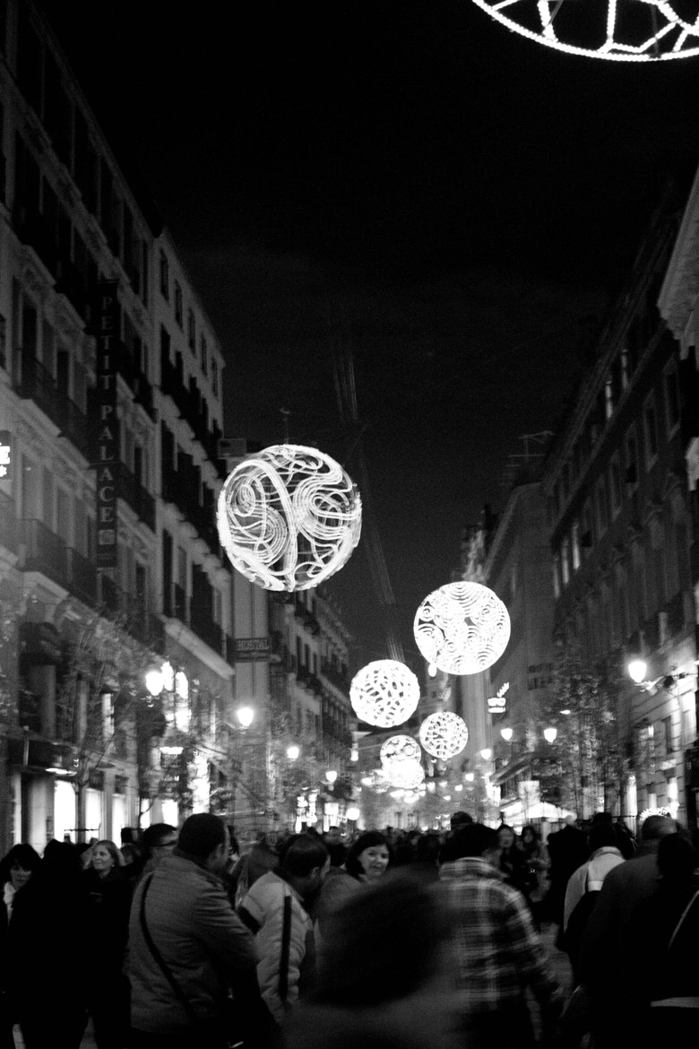 Photograph Navidad en la Calle Mayor by Alfonso Angel Rodríguez Escudero on 500px