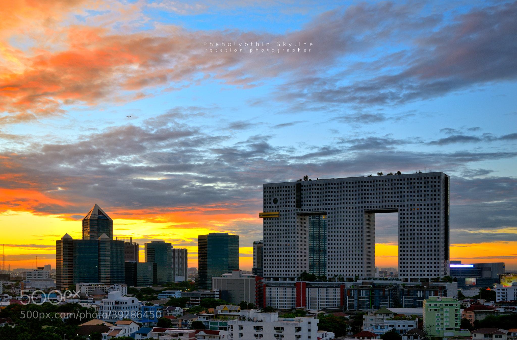 Photograph Phaholyothin Skyline by Jirawas Teekayu on 500px