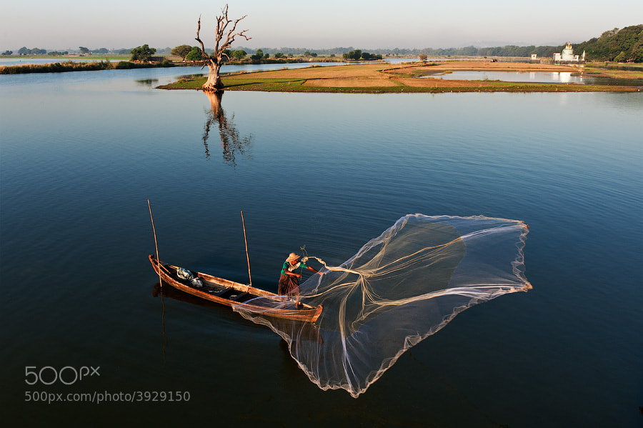 Fishing - Mandalay, Myanmar