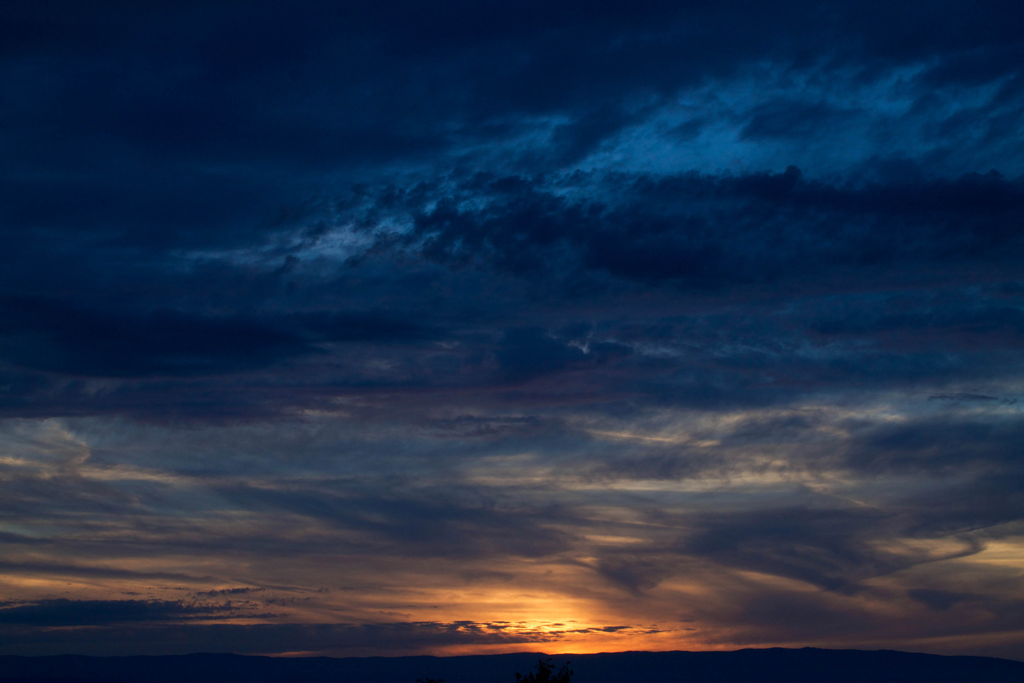Photograph Sunset through the clouds  by Aerni Adeline on 500px