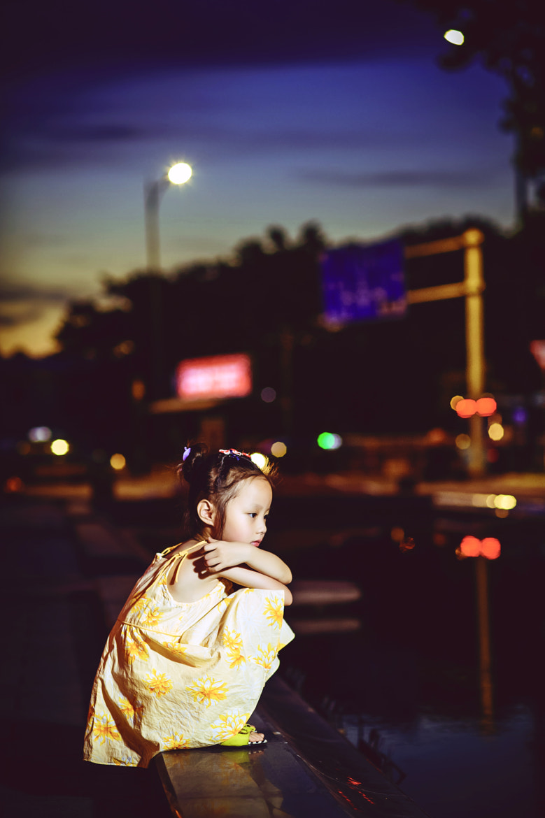 Photograph A little girl by Bruce Wang on 500px