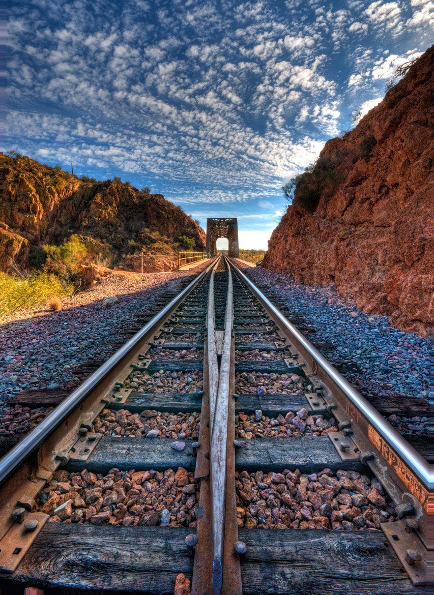 Photograph Leading Tracks by Michael Wilson on 500px