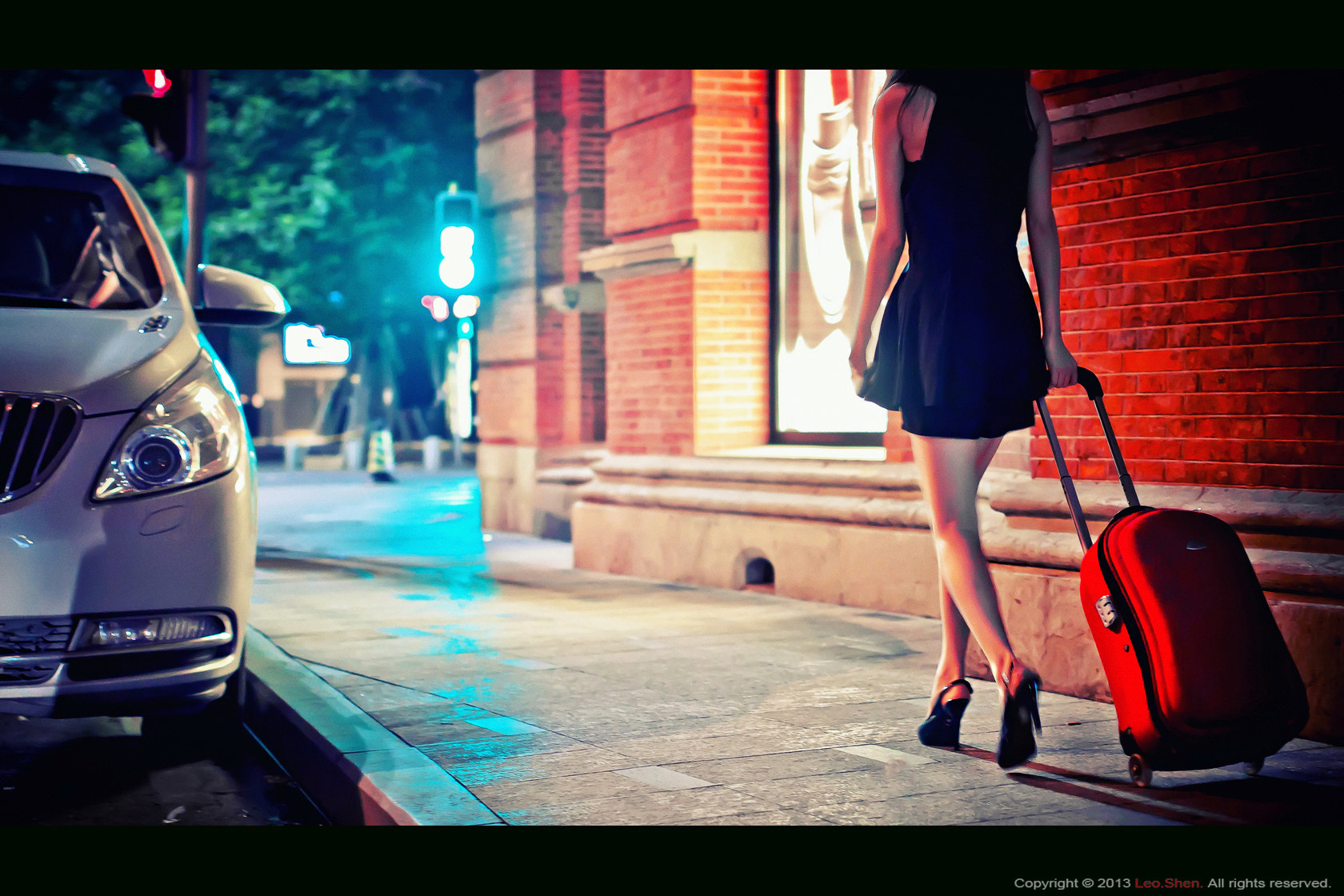 Photograph Trolley Case  by Shen Leo on 500px
