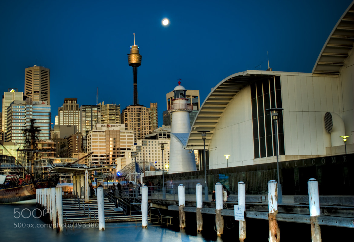 Photograph Pyrmont Pier by Paul Cons on 500px