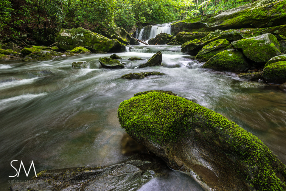 Photograph water fall, smoky mountain national park by Sudarshan Mondal on 500px