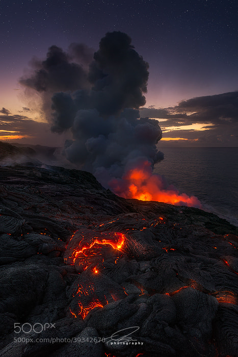 Photograph Kalapana Creep by Ted Gore on 500px