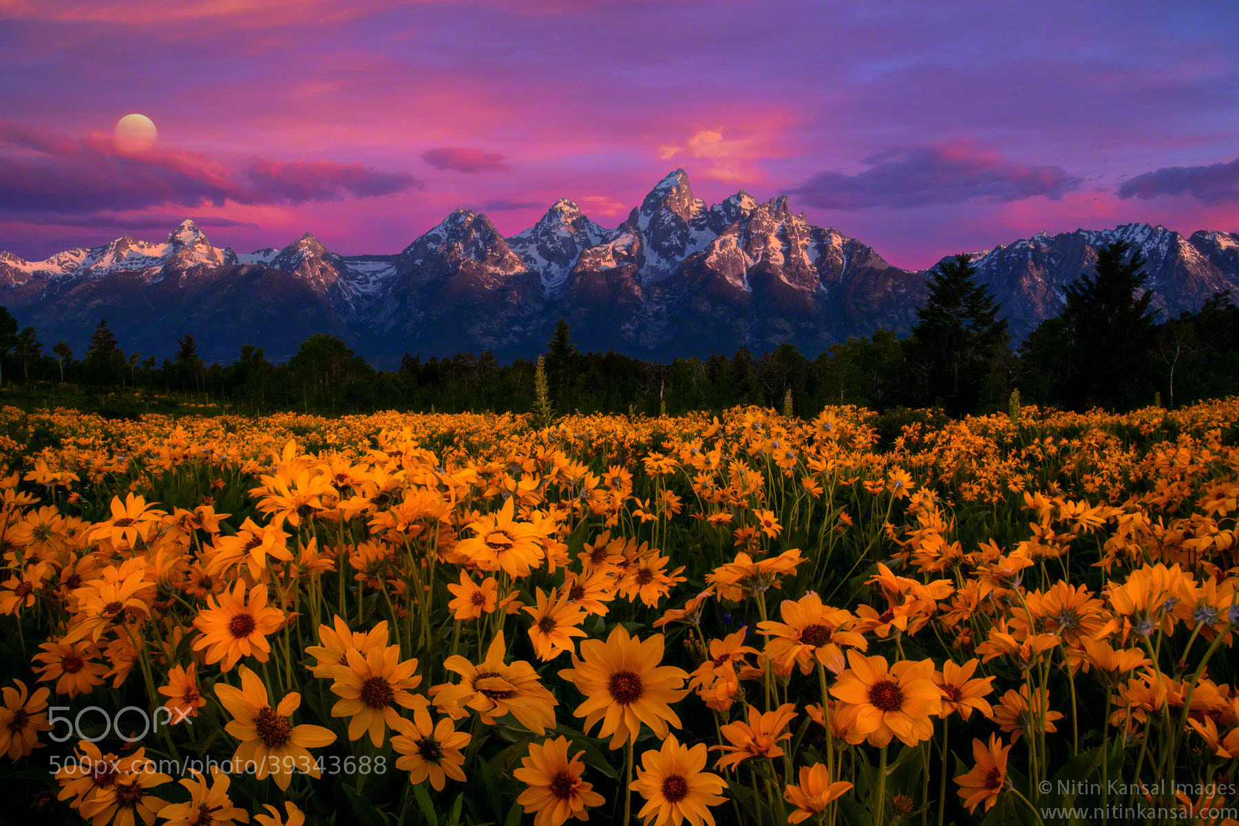 Photograph *Tetons Magic* by Nitin Kansal on 500px