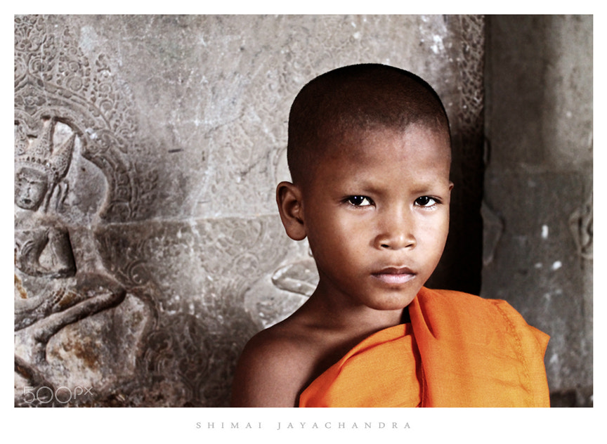 Photograph {the little monk} by Shimai Jayachandra on 500px