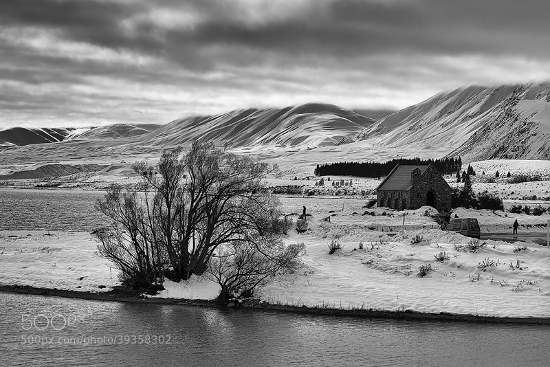 Photograph church of good shepherd by perisherblue  on 500px