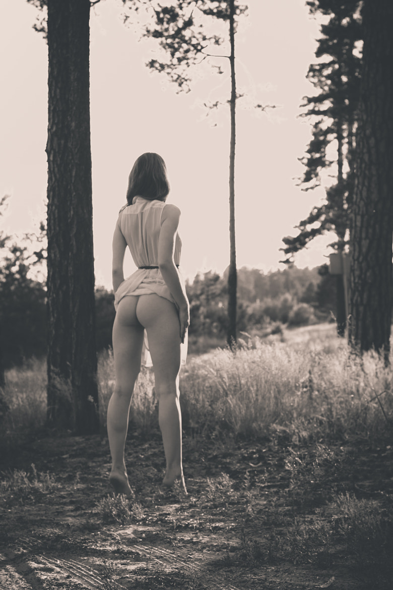 Photograph Girl in the forest... by Alexander V. on 500px