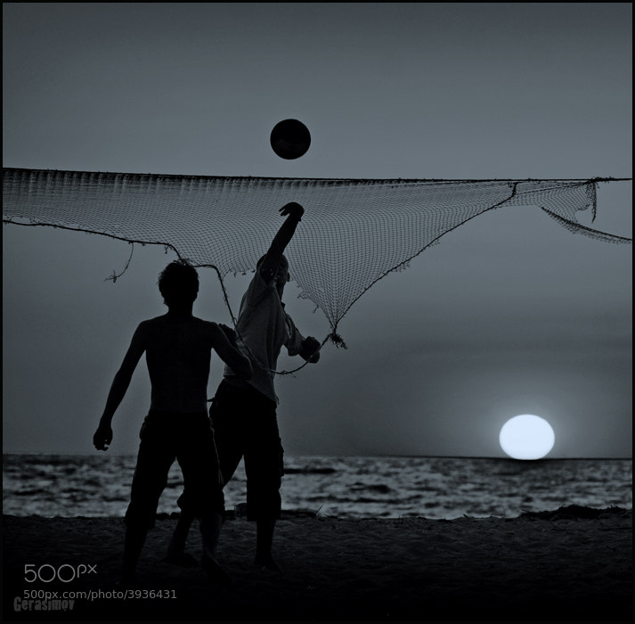 Photograph Sunset players by Vladimir Gerasimov on 500px