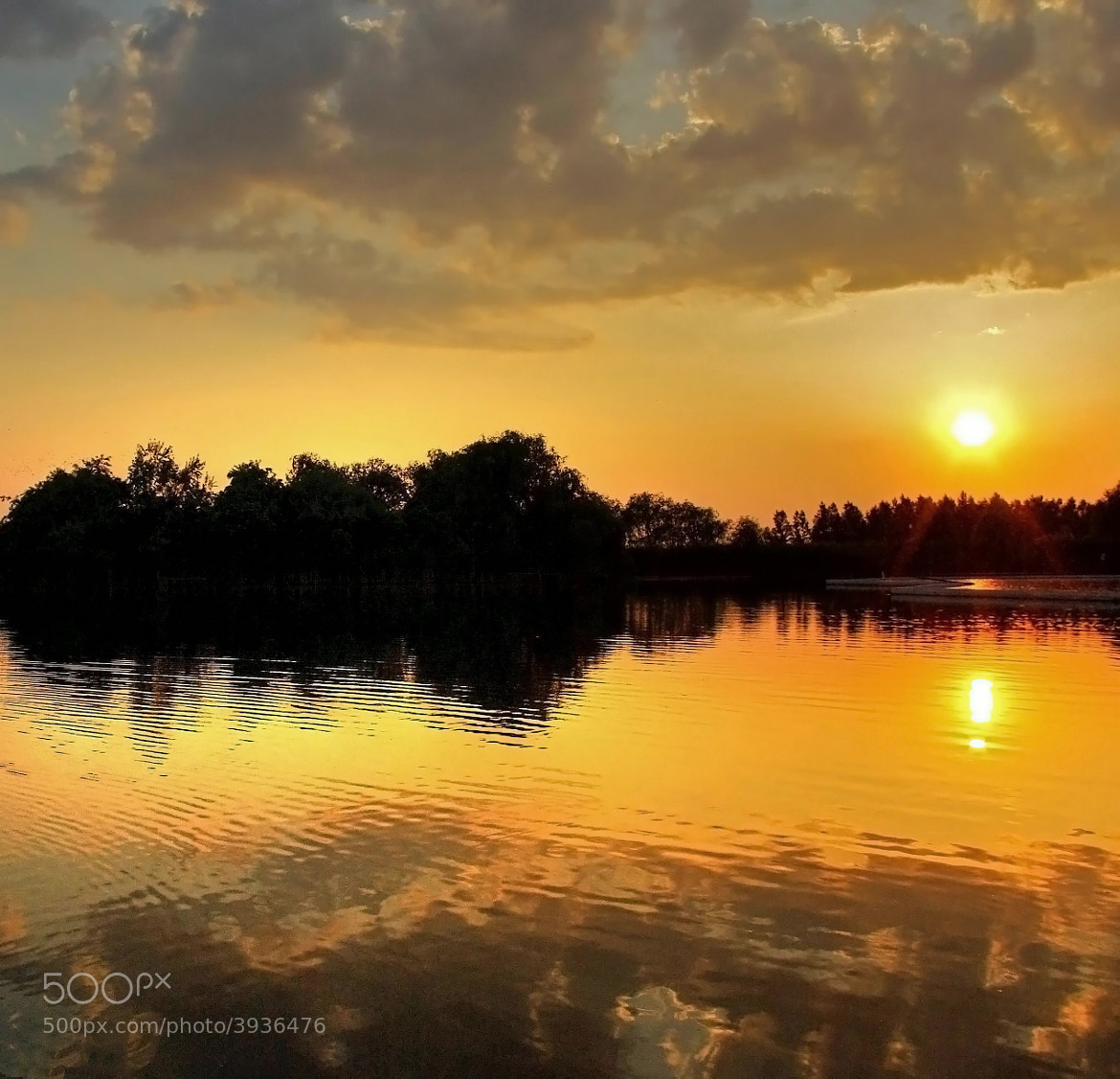 Photograph  Golden Lake by Béla Török on 500px