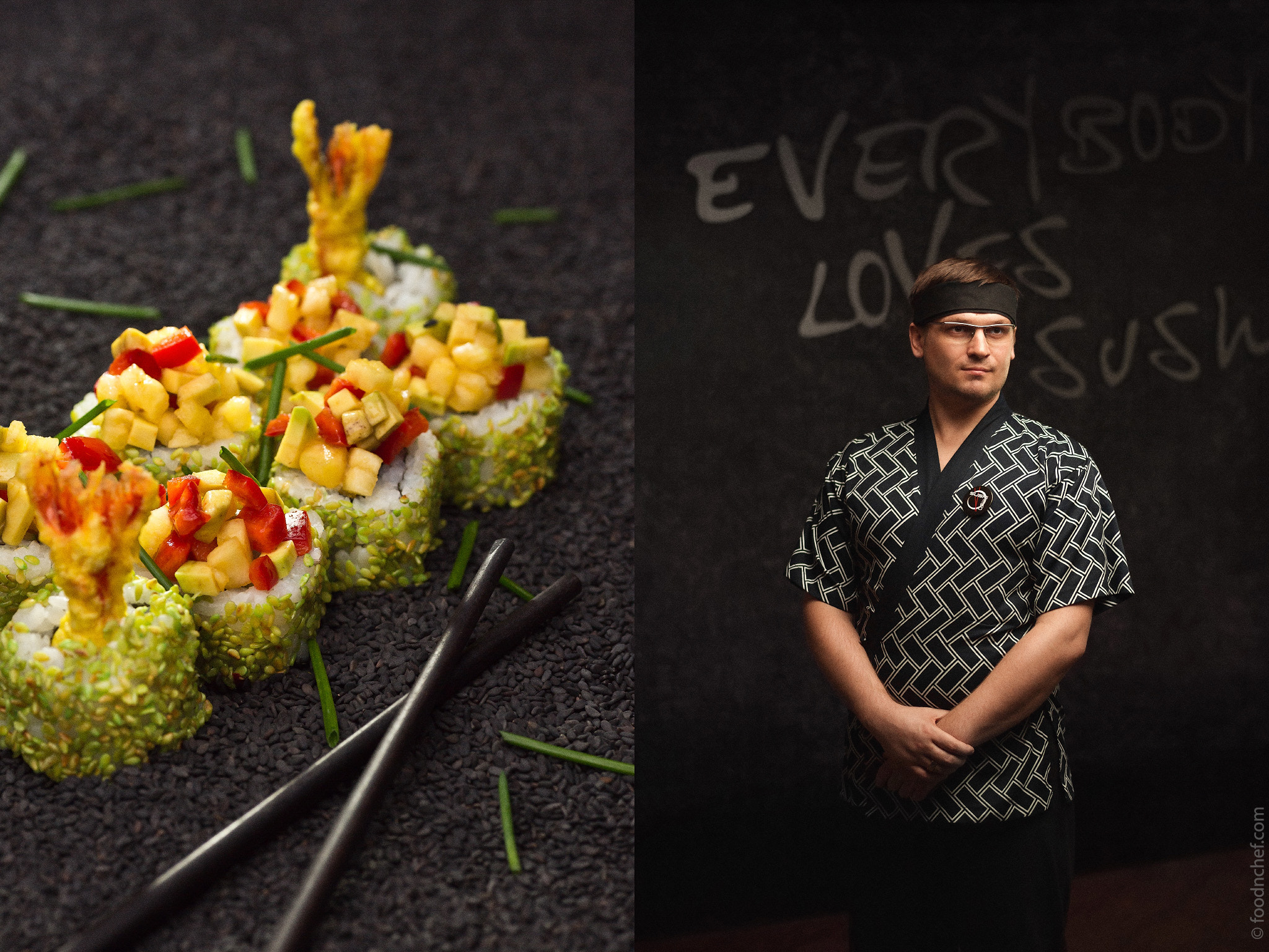 Photograph Oleg Pashkevich, Chef of Sushi360 by Food & Chef International Project  on 500px