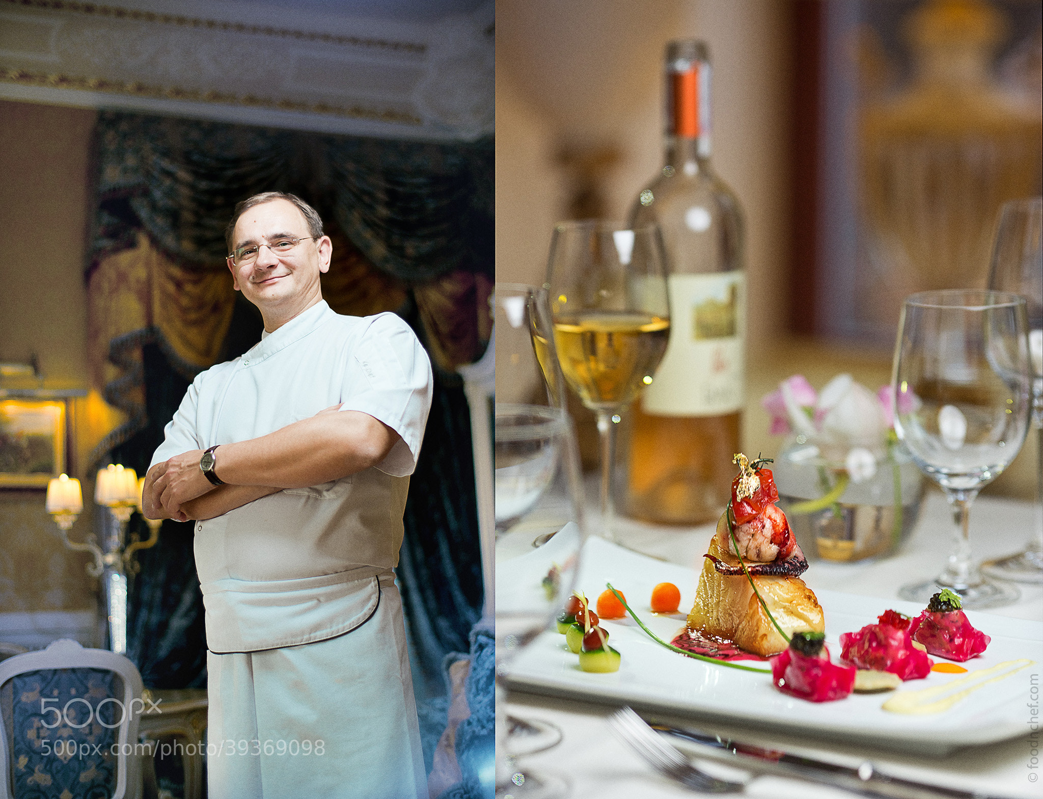 Photograph Vladimir Rumiantsev. Chef of Le Grand Café Bristol by Food & Chef International Project  on 500px