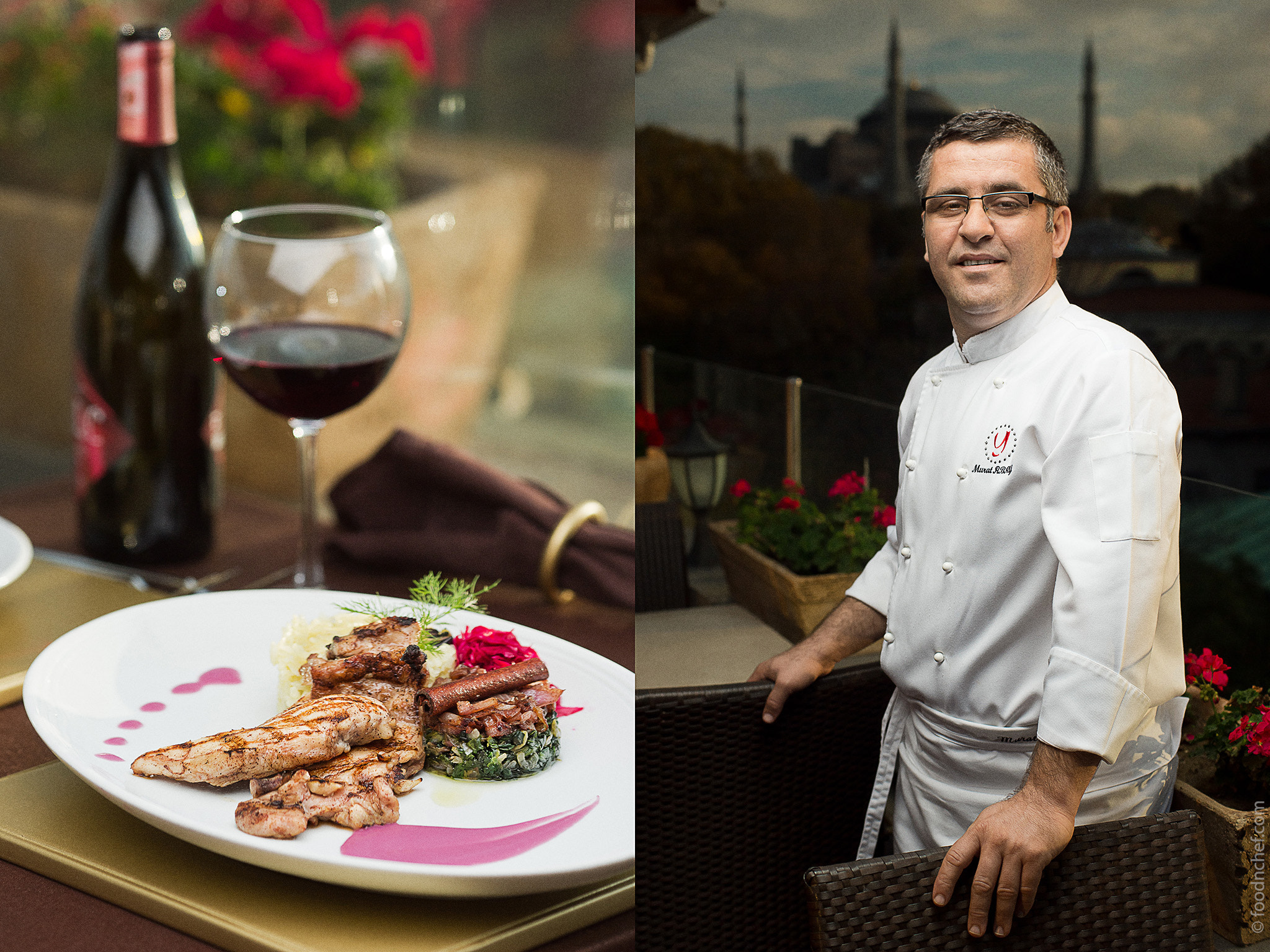 Photograph Murat Abay. Chef of Olive Restaurant by Food & Chef International Project  on 500px