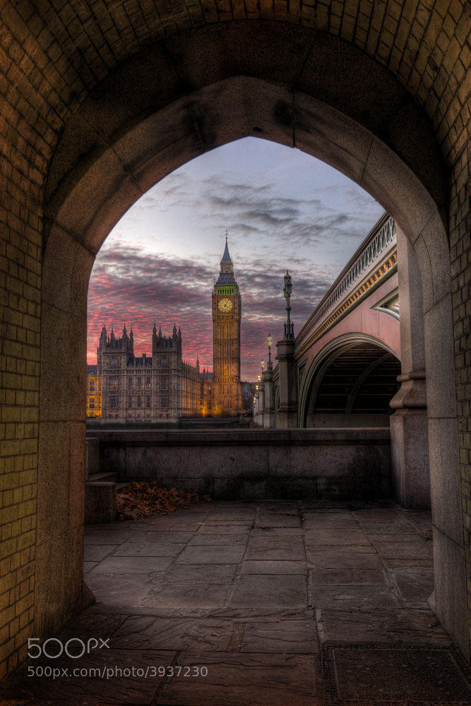 Photograph Big Ben at sunset by Michael Cavén on 500px