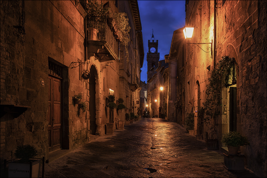 Photograph pienza@night.it by Don Pino on 500px