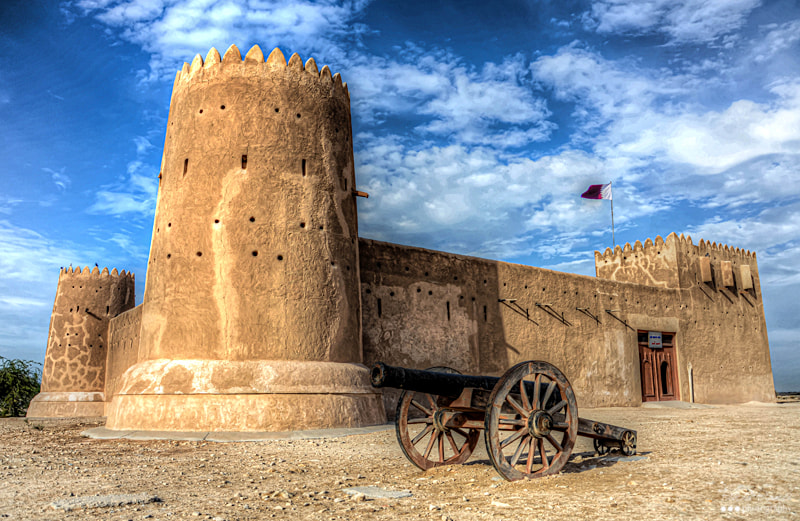 Al Zubara Fort, Doha #2 by Fitria Ramli on 500px.com