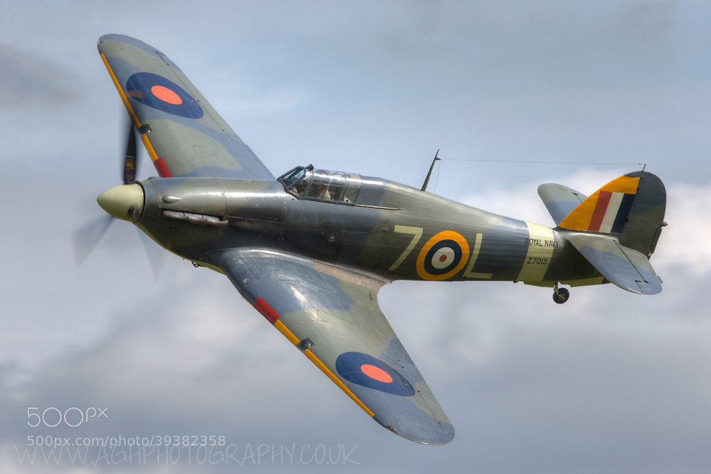 Photograph Hawker Hurricane by Tony House on 500px