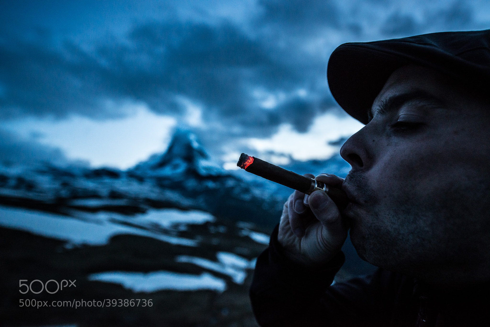 Photograph Smoking by Lycien Jantos on 500px