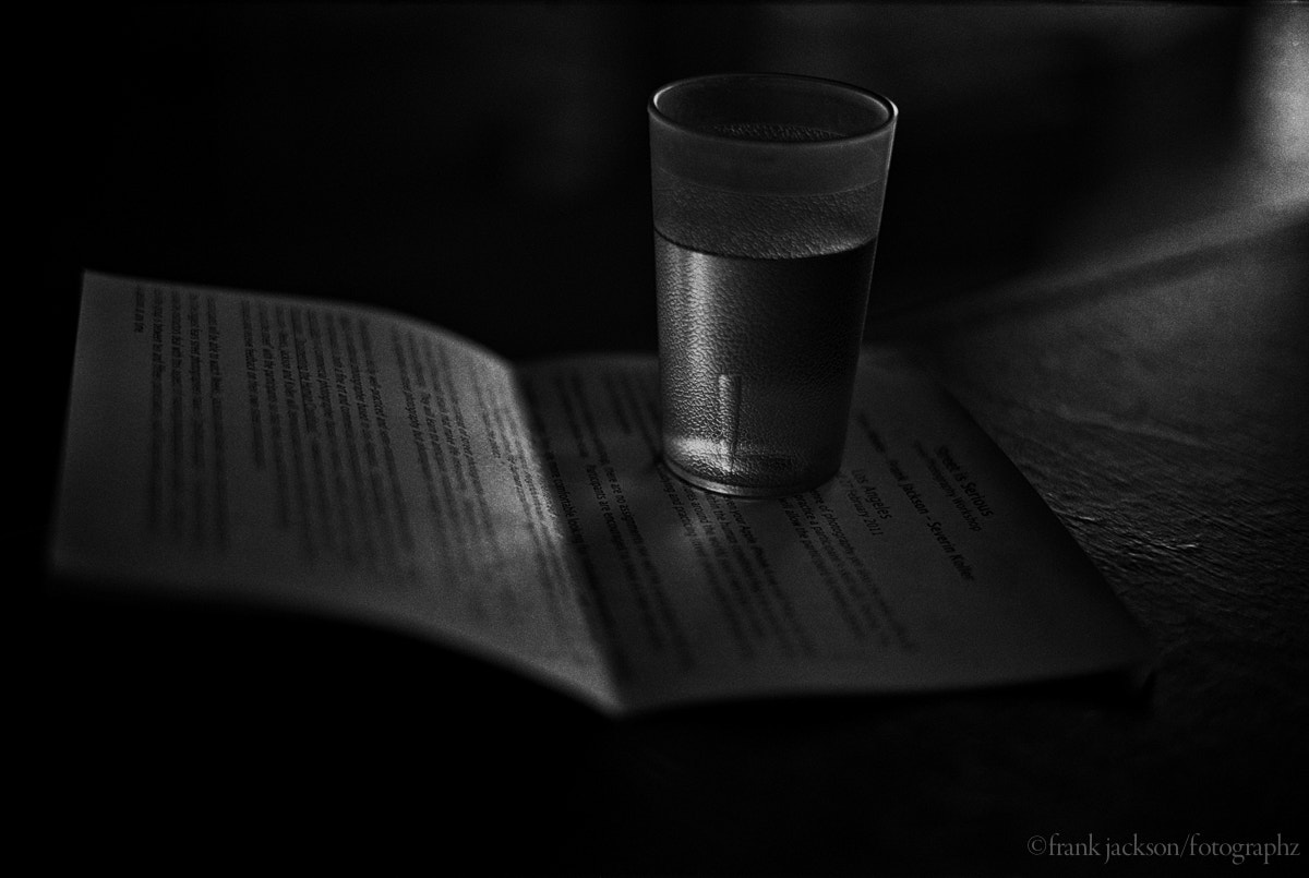 Photograph water on words by Frank  Jackson on 500px