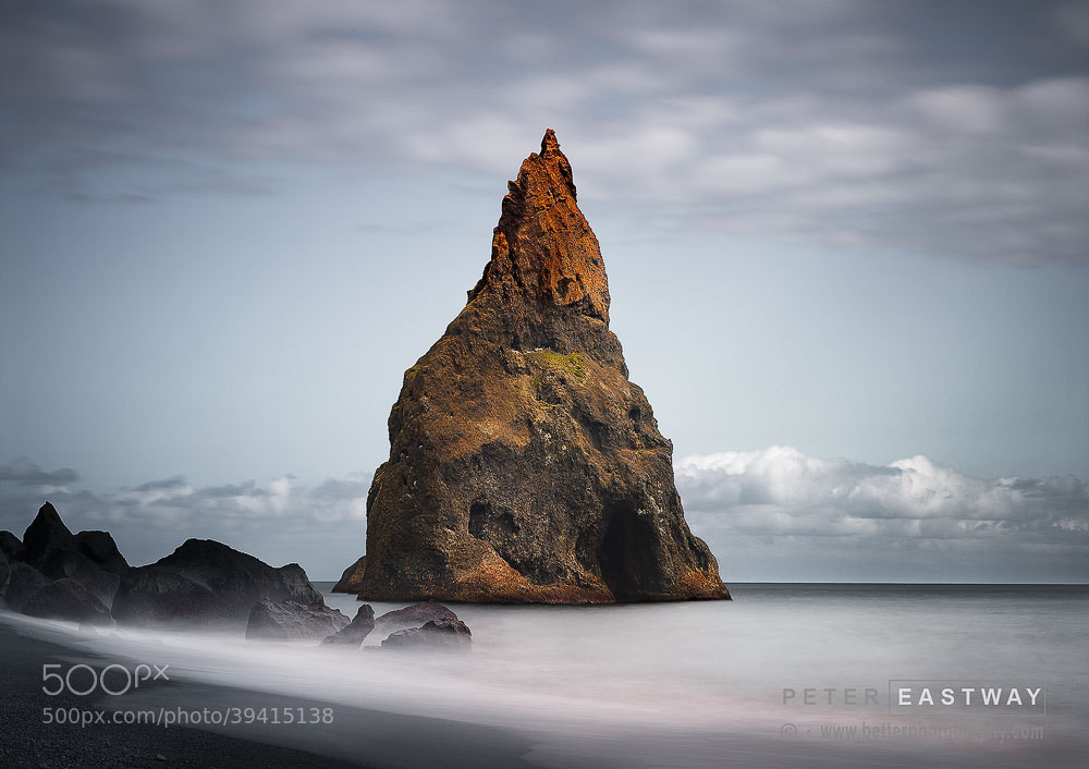 Photograph Reynis Drangar by Peter Eastway on 500px