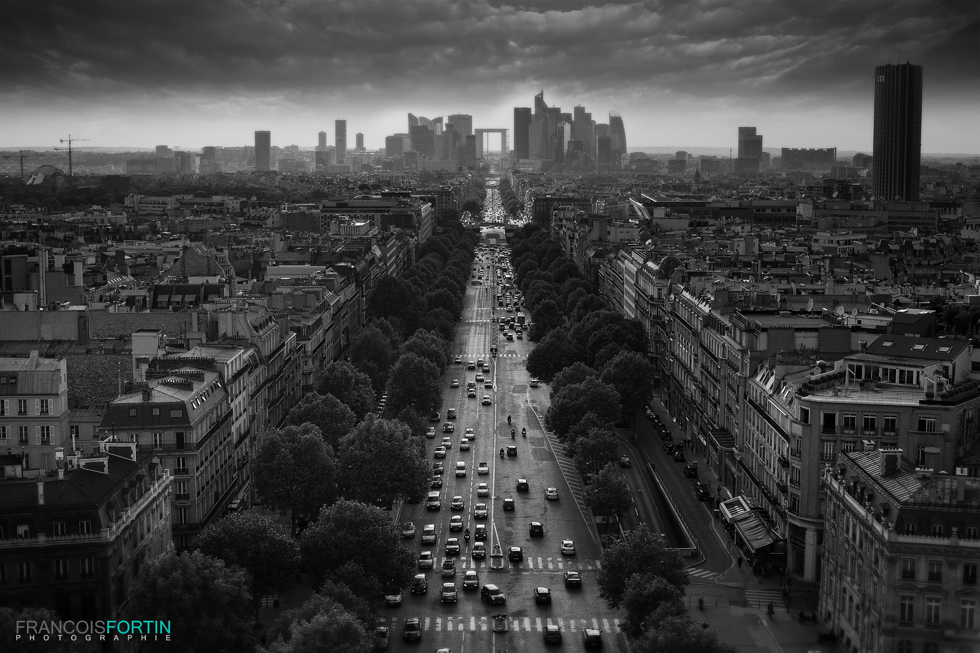 Photograph Paris under dark by Francois Fortin on 500px