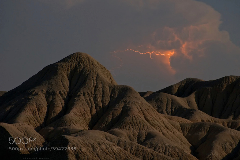 Photograph Lightning in the Badlands by Jonathan Auerbach on 500px