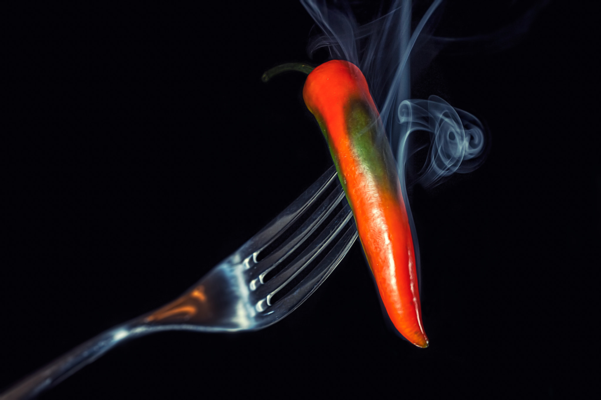 Photograph Smoking Hot Chili by Tony Antoniou on 500px