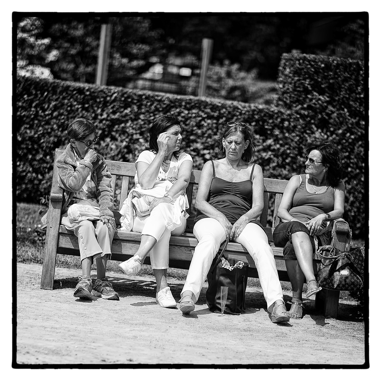 Photograph The Bench Sitters by Fouquier  on 500px