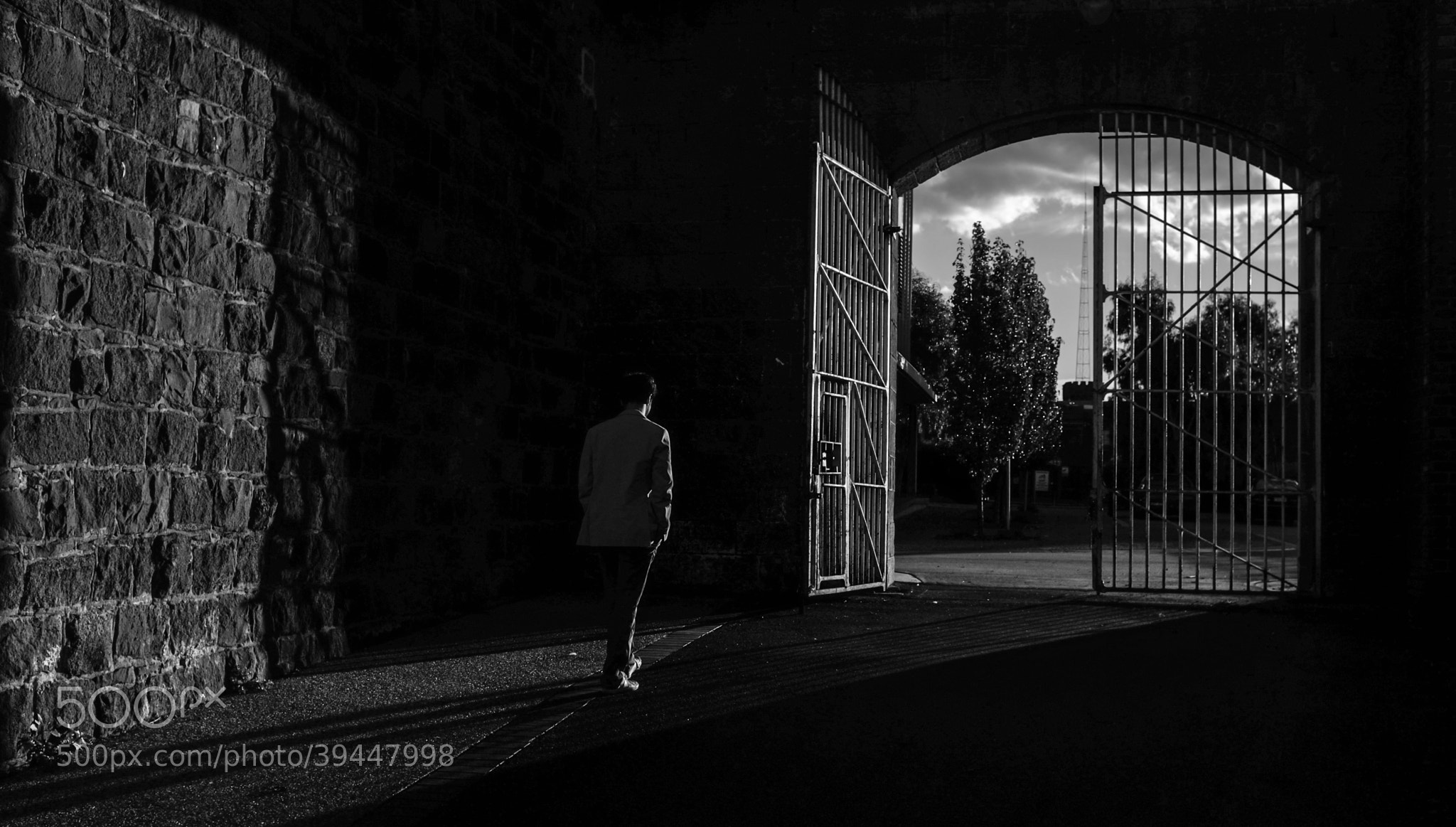 Photograph through the gate by Edib Unal on 500px