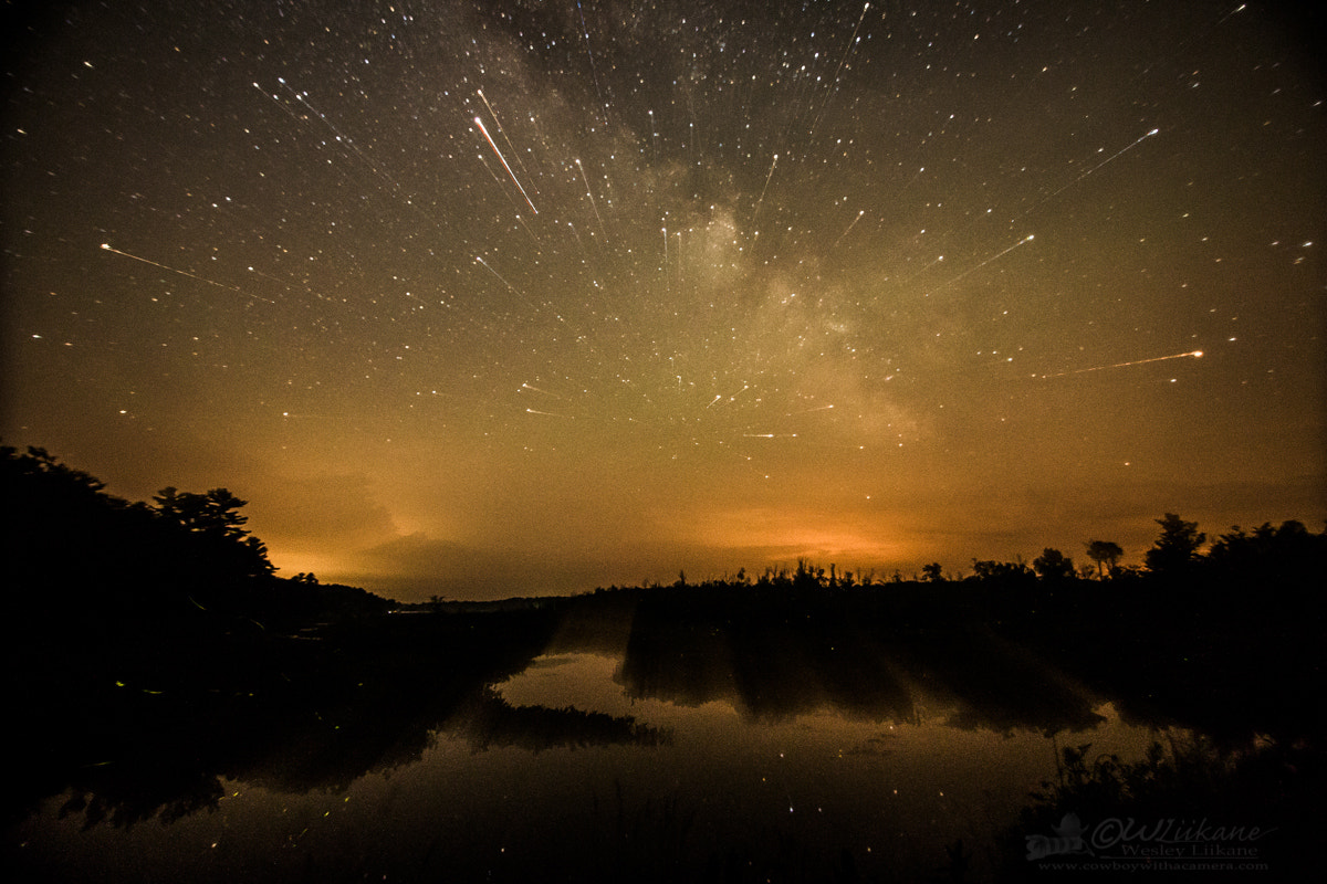 Photograph Travelling Through the Milky Way by Wesley  Liikane on 500px