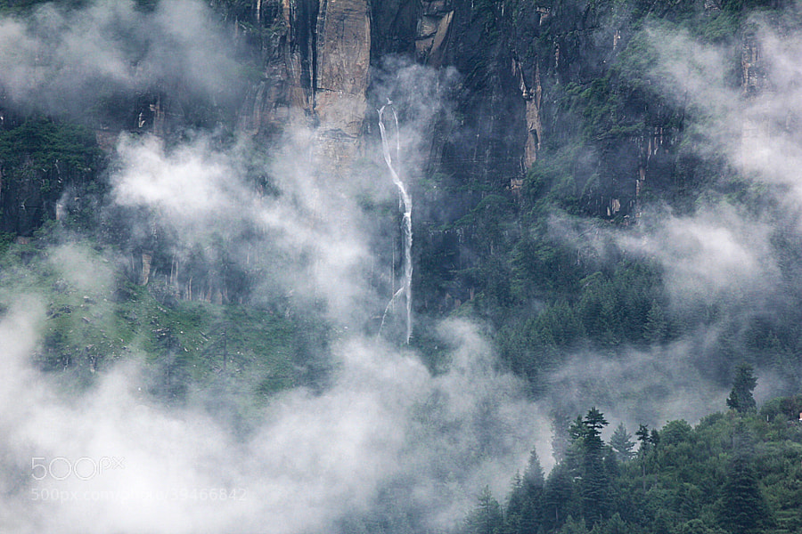 Photograph jogni falls by Himachal Geographic on 500px