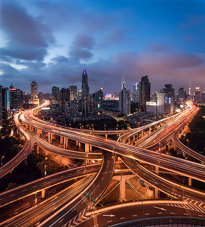 Photograph shanghai traffic by Jens Fersterra on 500px