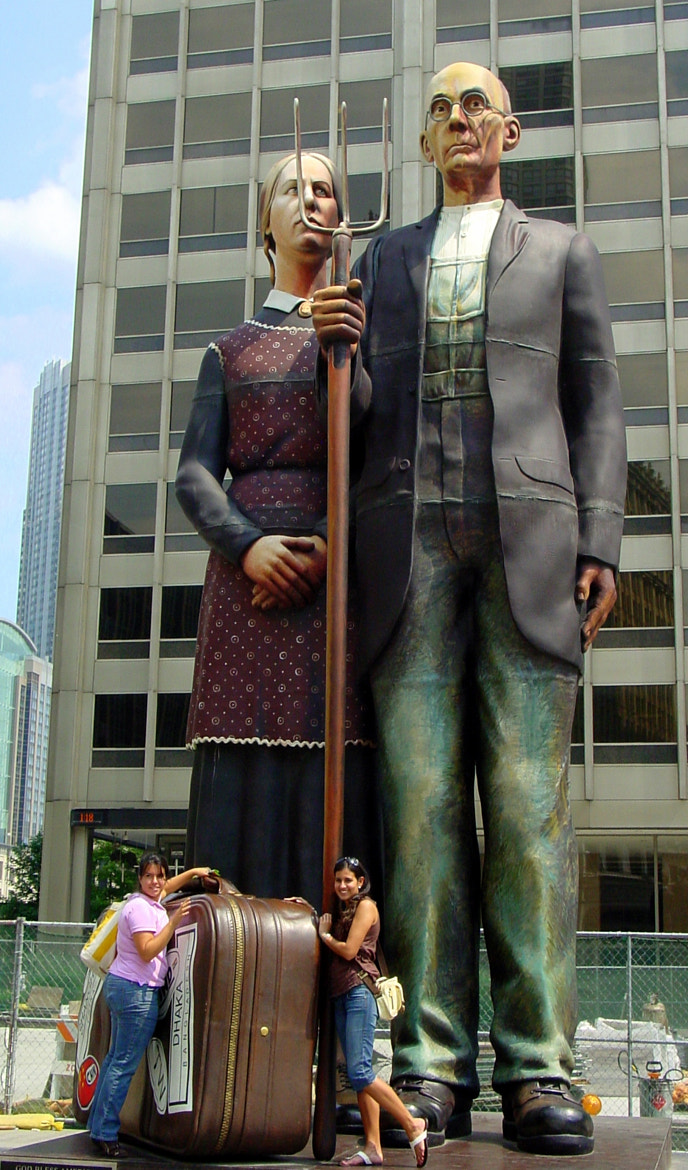 Photograph American Gothic in the big City by Sue  Scimeca on 500px
