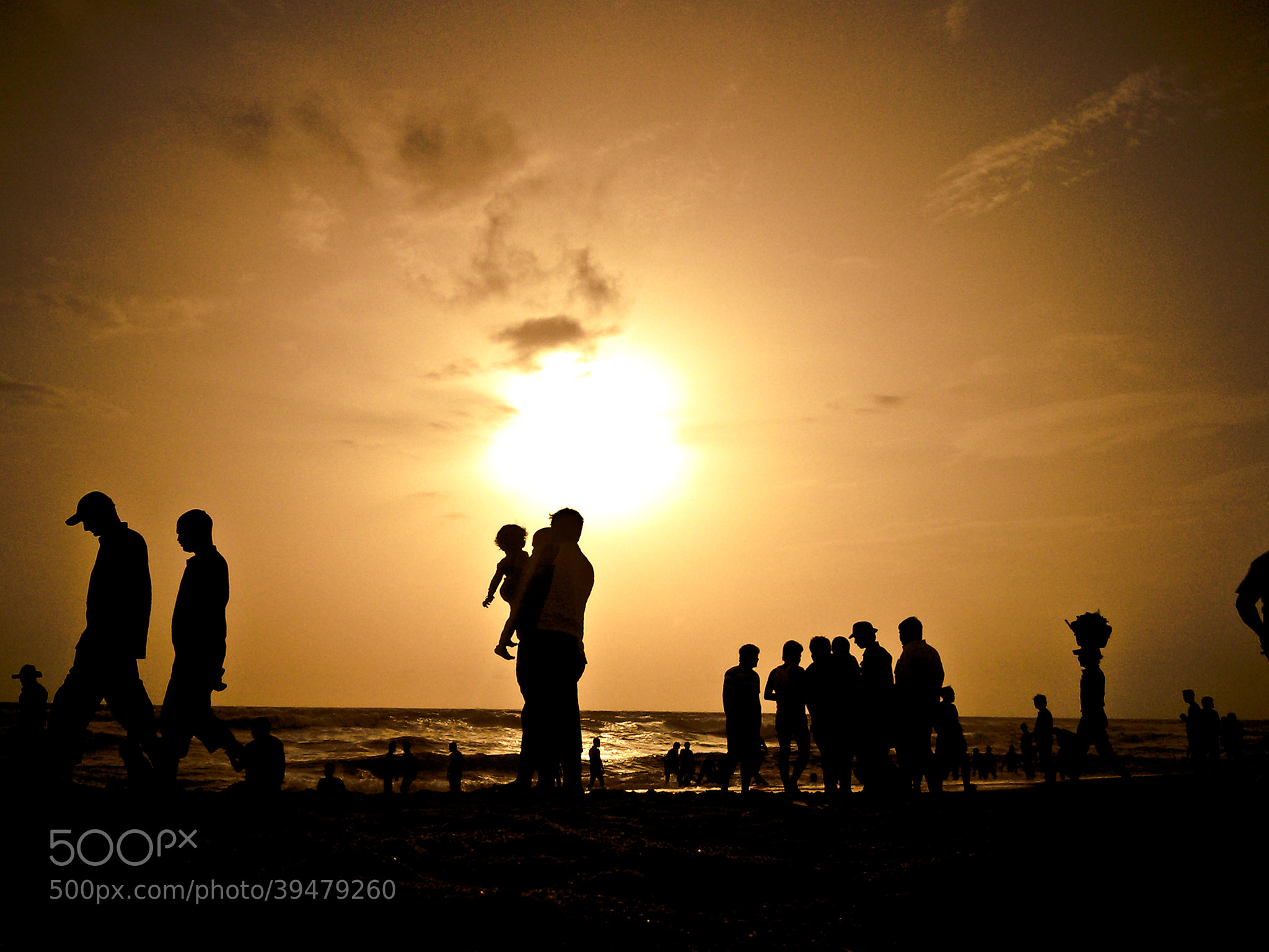 Photograph GOA Beach Silhouette | Ravisanaths Photography by Ravisanath  on 500px