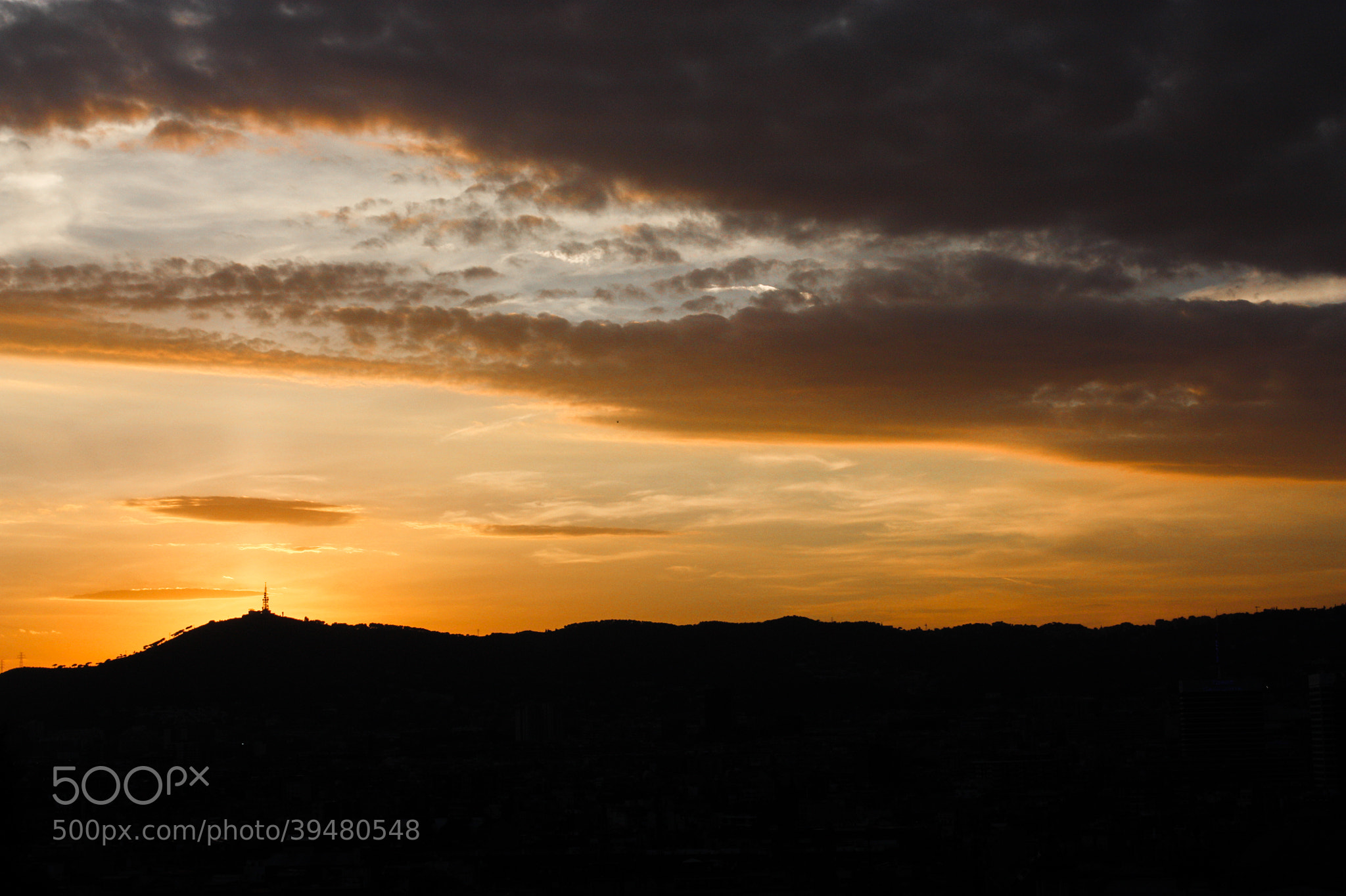 Photograph Sunset in Montjuic by Nikhil Joshi on 500px