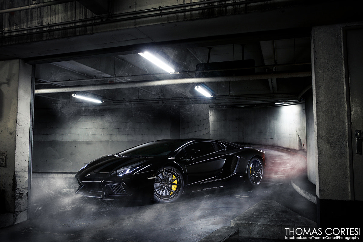 Photograph Lamborghini Aventador - Black Bull by Thomas Cortesi on 500px