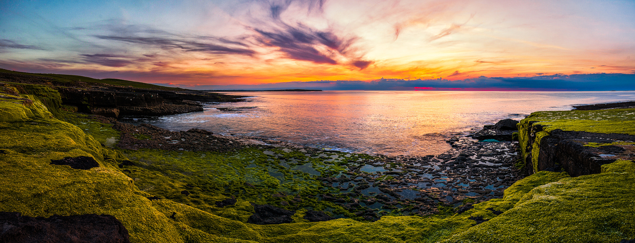 Photograph Sunset from the Cliffs by Gavin Hartigan on 500px