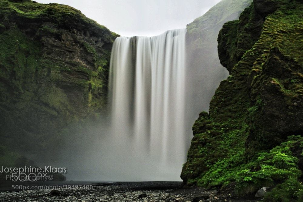 Photograph Cascading Beauty of Skogafoss by Jozie Klaas on 500px
