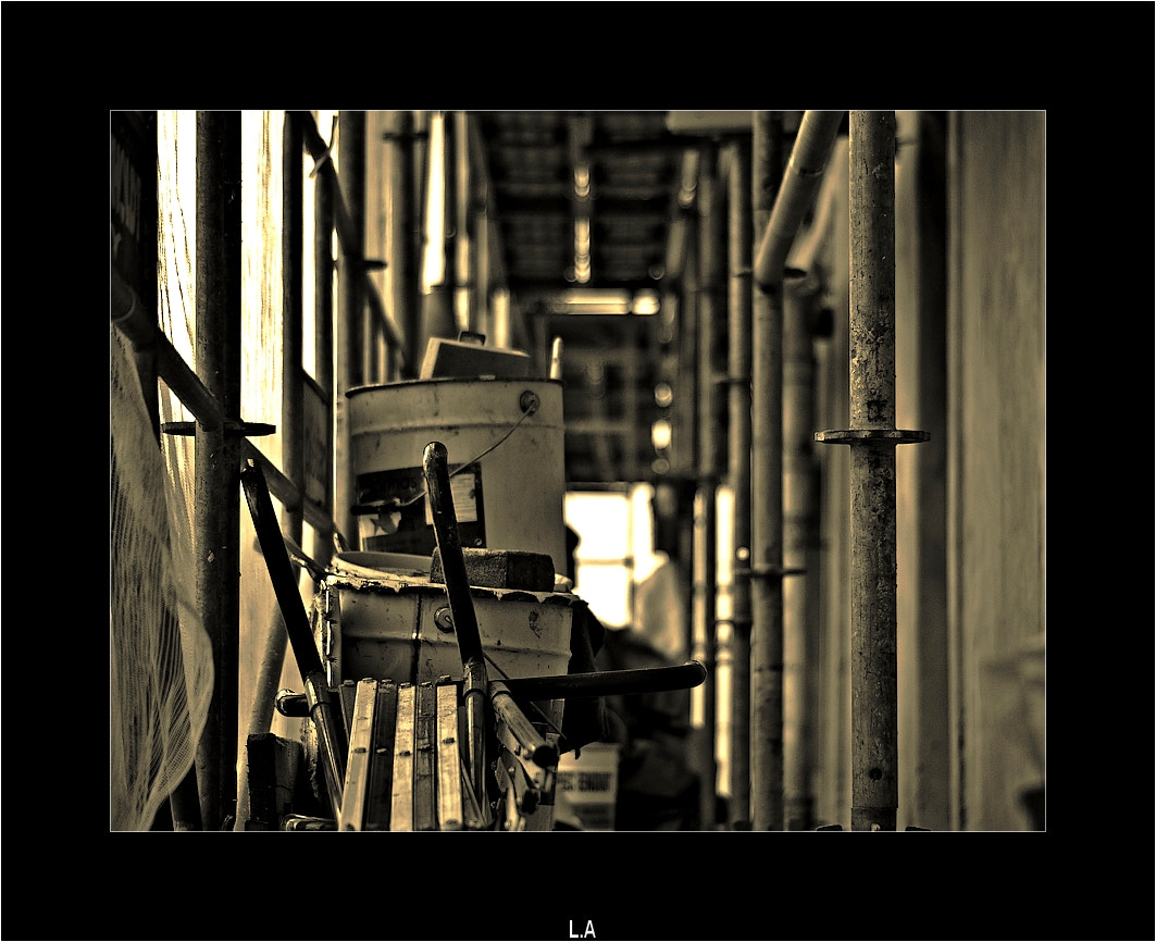 Photograph The scaffolding by Loïc Auffray on 500px