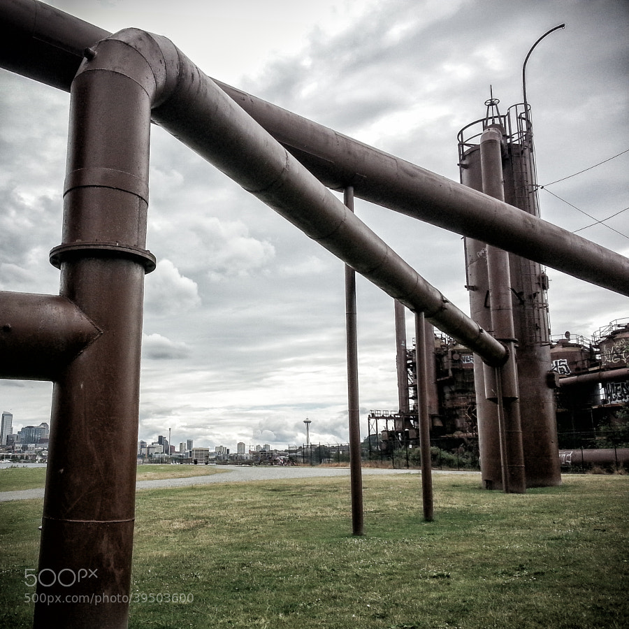 Gas Works Park and the Space Needle by Jay Scott (jayscottphotography)) on 500px.com