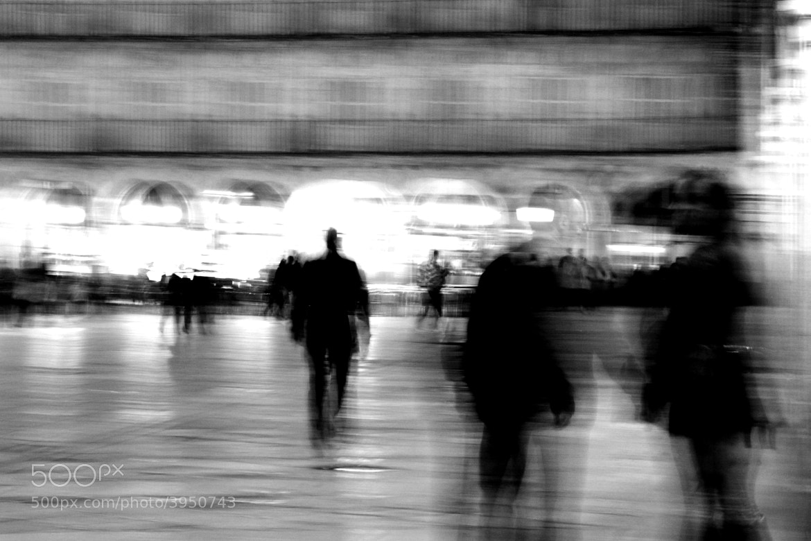 Photograph blur man by carolina madruga on 500px